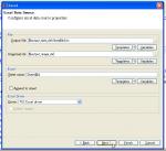 画像: データソースの設定 - WebSundew