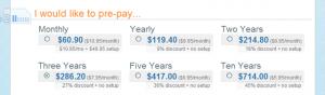 画像: 契約期間の選択 - DreamHostの申し込み・契約方法