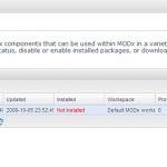 画像: Packages(その6) - MODx Revolution 2.0.0-alpha4